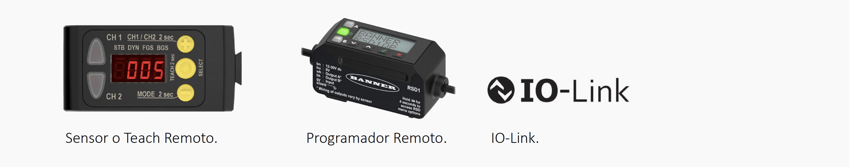 sensor/programador remoto - IO-LInk