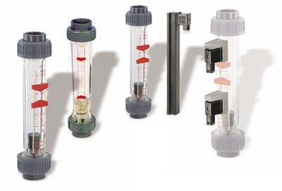 Rotámetros para control de caudal de líquidos