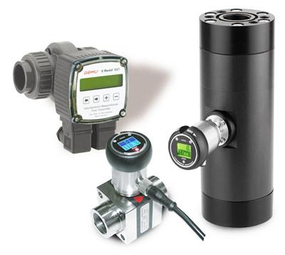 Detectores de caudal turbina para líquidos