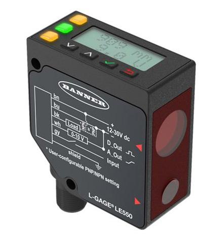 Sensor de Medición Láser: Serie LE