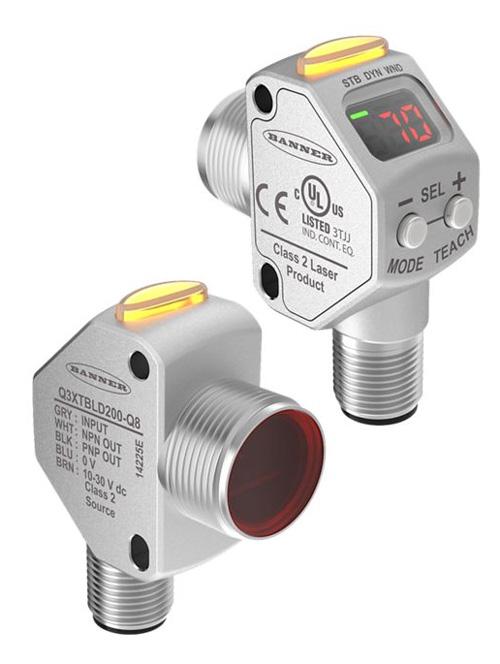 Sensor Láser de Contraste: Serie Q3X