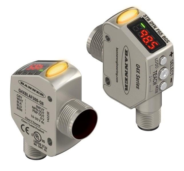 Sensores Láser para Medición de Distancia: Serie Q4X