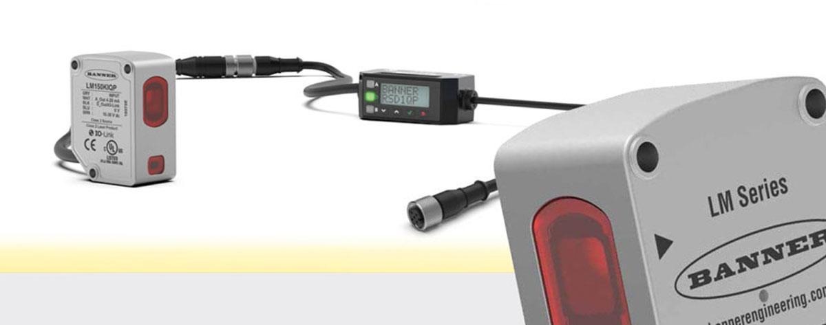 Sensor de medición láser