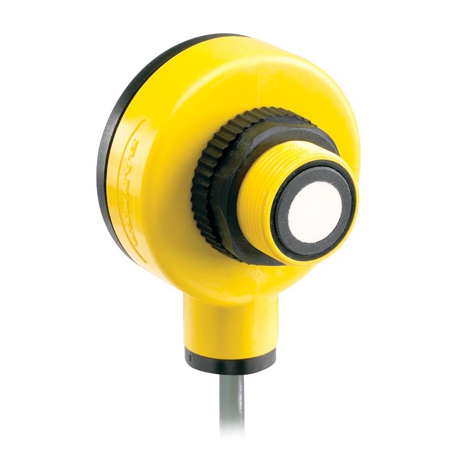 Sensor ultrasónico T18U de BANNER.