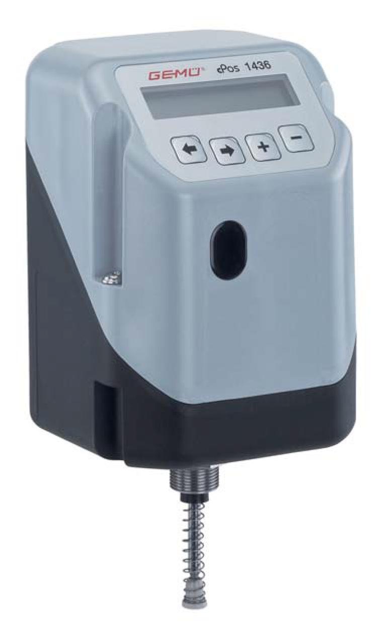 Posicionador - Controlador de proceso 1436