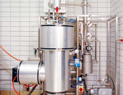 Instalación para separar mezclas de líquidos