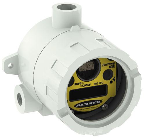 El Nodo DX99 FlexPower intrínsecamente seguro de BANNER