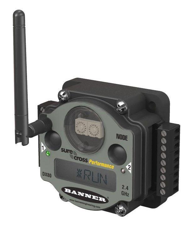 Nodos wireless y Gateways Inalámbricos SureCross de BANNER