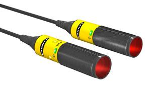 El sensor S18-2 de BANNER es un método de detección rentable y confiable.
