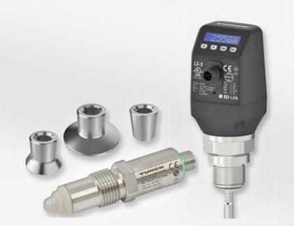 Sensores de nivel LS-5 y NCLS de TURCK