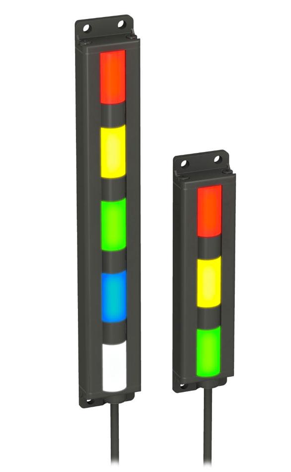 Indicadores Segmentados Lineales: Serie TL30F de BANNER