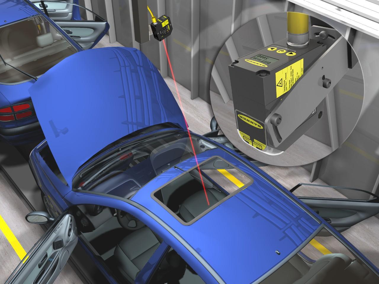 Inspección de Largo Alcance en Ensamble Automotriz
