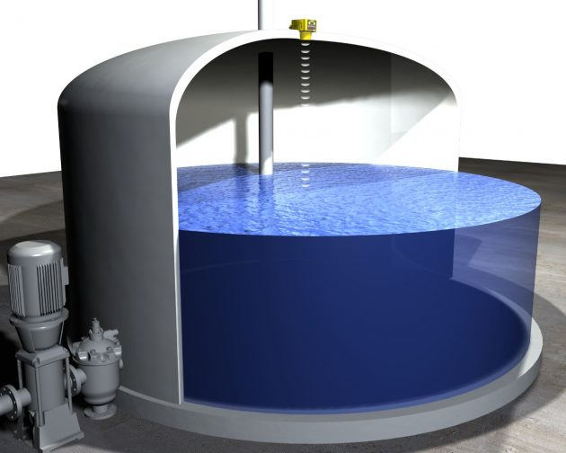 Sensores ultrasonido para control de nivel