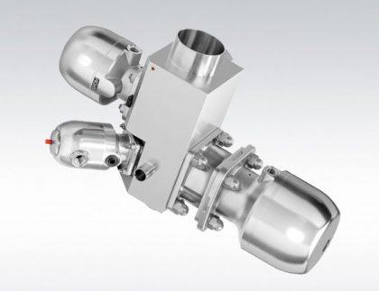 Válvula de globo de diafragma en multivías