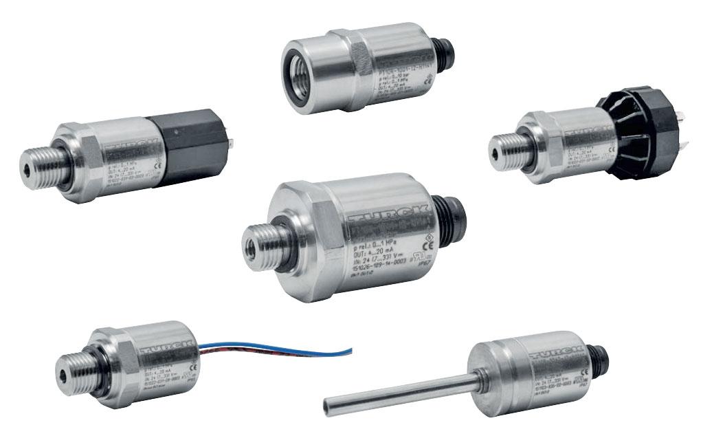 Gama Transmisores de presión PT1000/2000 de TURCK