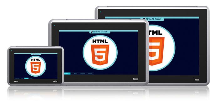 Soluciones HMI X2 Web de Beijer