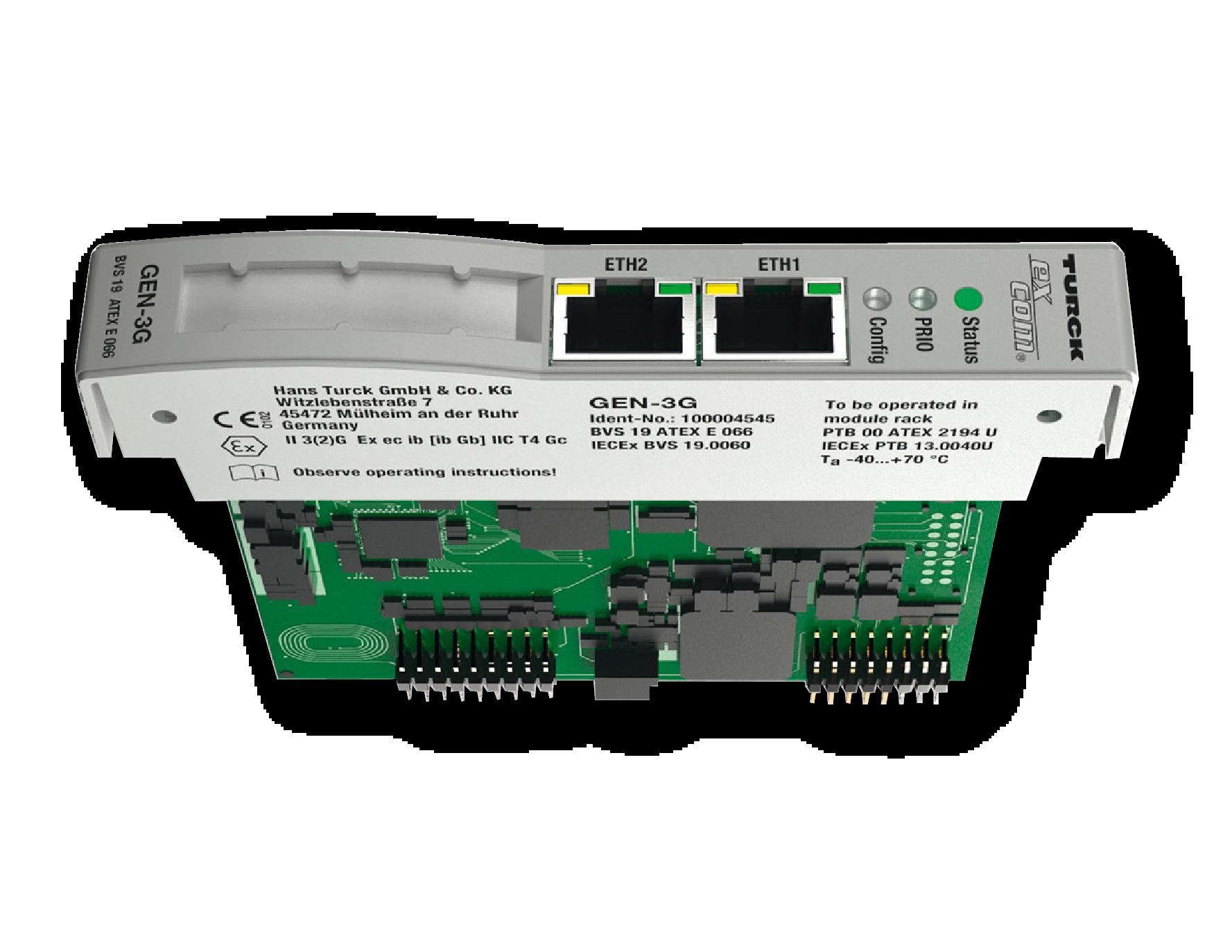Comunicación Ethernet para Atmosferas Explosivas (ATEX)