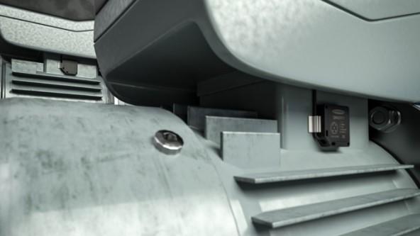 Además de la vibración, el sensor QM30 (IP67) también detecta los cambios de temperatura
